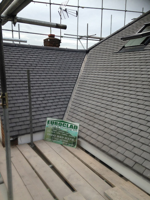 Example of New Roofing Work